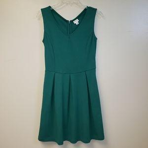 Women's Merona Size Small Green Dress pockets